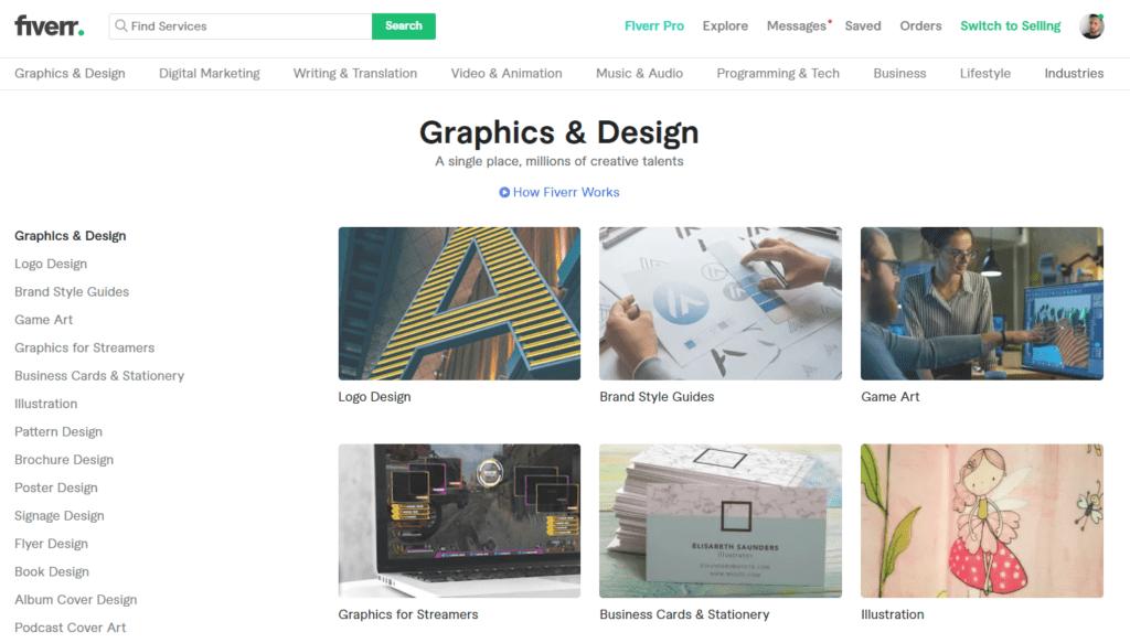 fiverr graphic design review